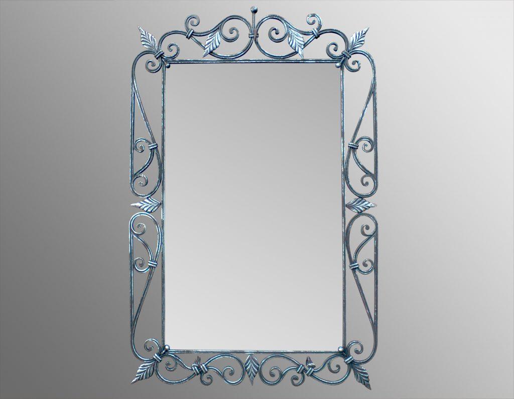 Зеркало в кованой раме своими руками 525
