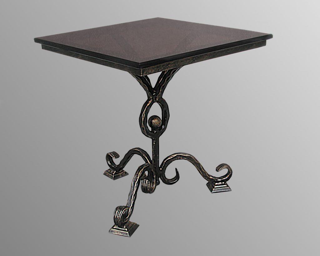 или саб, кованый стол фото на одной ножке форма делает