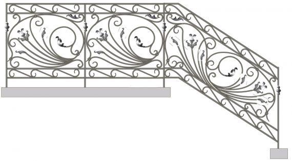 Кованые лестницы и перила
