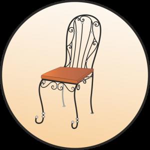Кованые стулья