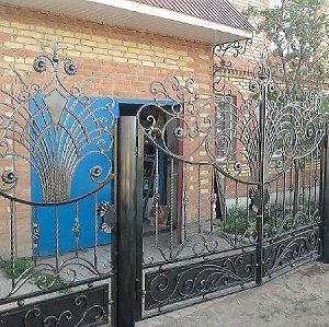 1 кованые ворота