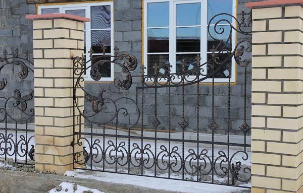 1 кованый забор 1