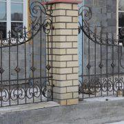 1 кованый забор 3