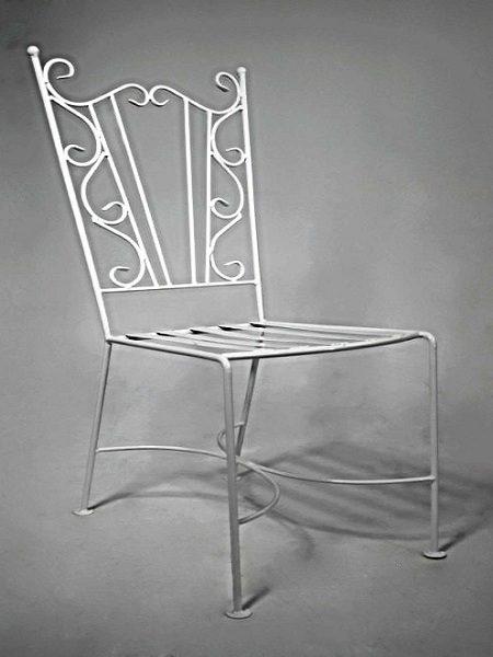 1 кованый стул