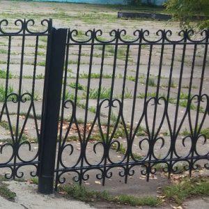 10 кованый забор 1
