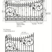 11 кованый забор 4