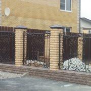 12 кованый забор 2