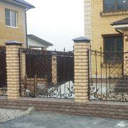 12 кованый забор 3
