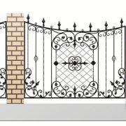 12 кованый забор 4