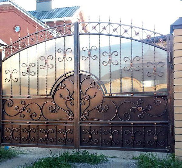 13 кованые ворота