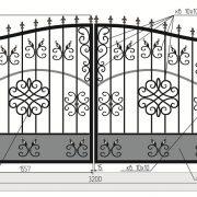 14-кованые ворота-3