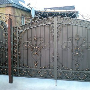 14 кованые ворота
