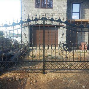 15-кованые ворота-1