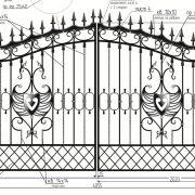 15-кованые ворота-4
