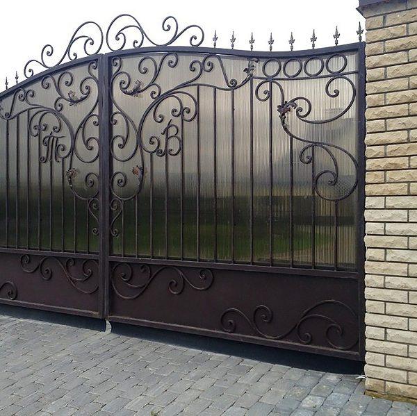 15 кованые ворота