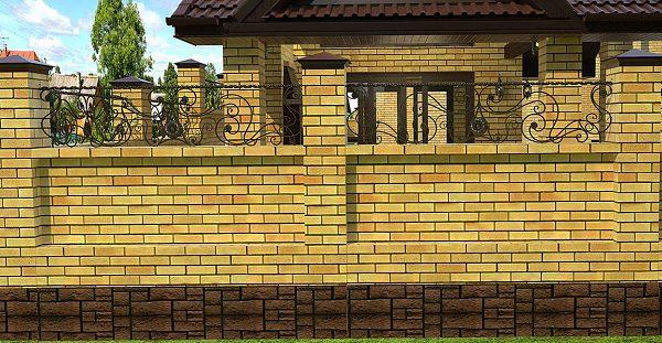 15 кованый забор 1