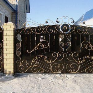 16 кованые ворота