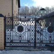 17 кованые ворота 2