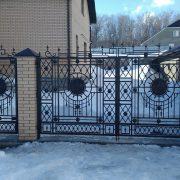 17 кованые ворота 3