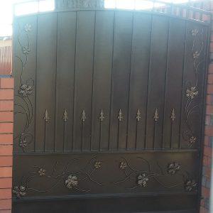 17 кованый забор 1