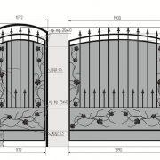 17 кованый забор 4