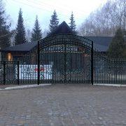 18 кованые ворота 2