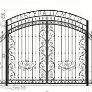 18 кованые ворота 3