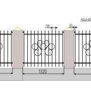 18 кованый забор 4