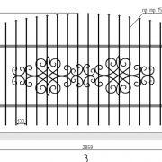 19 кованый забор 3
