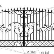 2-кованые-ворота