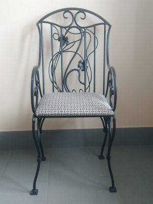 2 кованый стул