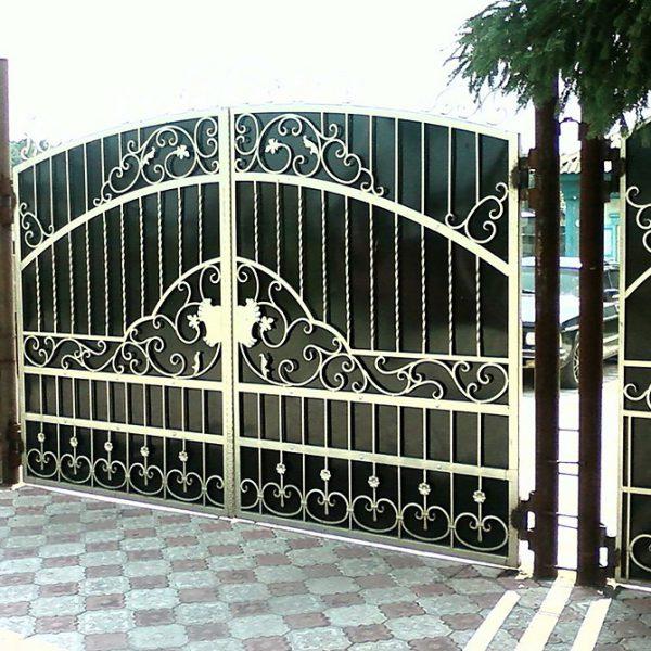 21 кованые ворота