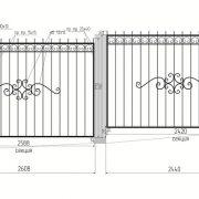 22 кованый забор 2