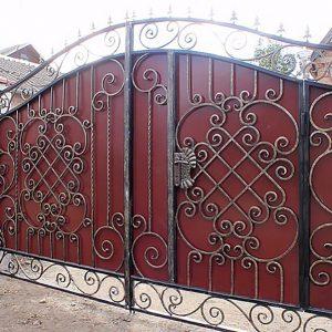 23 кованые ворота