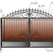 25-кованые-ворота