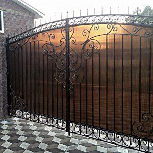 26 кованые ворота