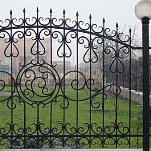 26 кованый забор