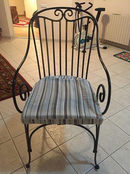 3 кованый стул