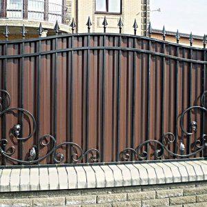 31 кованый забор