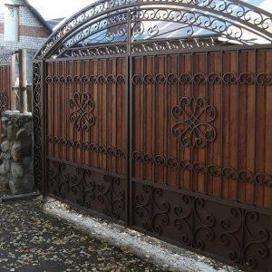 32 кованые ворота