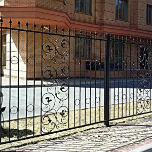 32 кованый забор