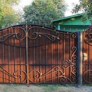33 кованые ворота