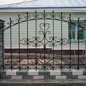 33 кованый забор