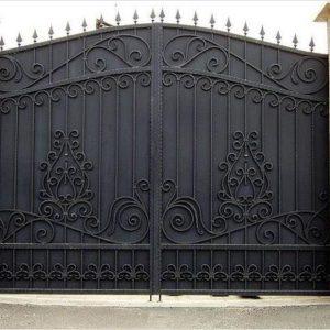 35 кованые ворота