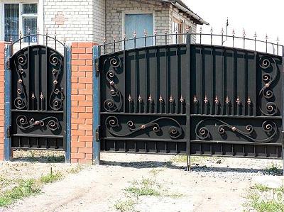 38 кованые ворота