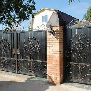 39 кованые ворота