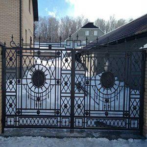 4-кованые-ворота