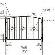 4 кованый забор 4