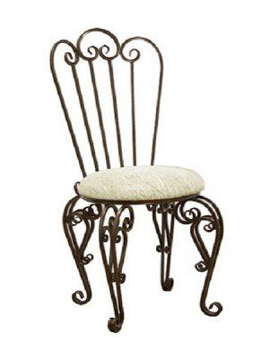 4 кованый стул