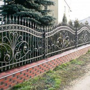 40 кованый забор